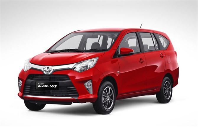 3. Toyota Calya (doanh số: 48.560 chiếc).