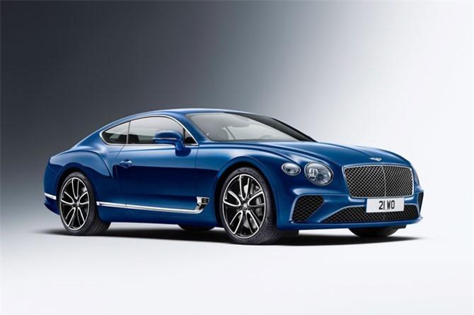 4. Bentley Continental GT. Động cơ Twin-Turbo W12 6 lít, sản sinh công suất tối đa 626 mã lực, mô-men xoắn cực đại 900 Nm.