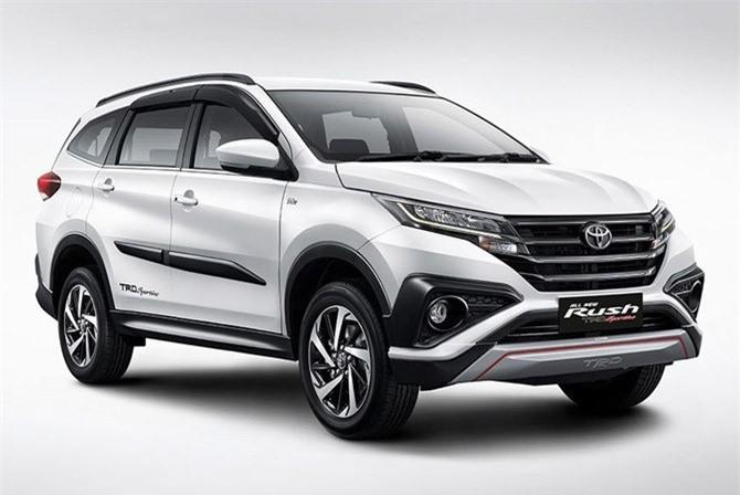 5. Toyota Rush (doanh số: 38.568 chiếc).