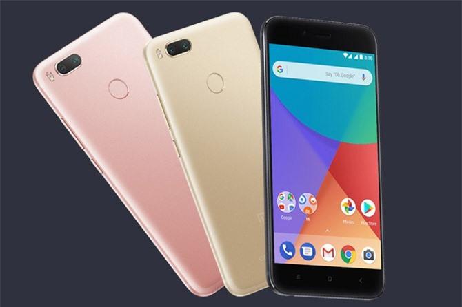 Xiaomi Mi A1 (giá từ 4,49 triệu đồng).