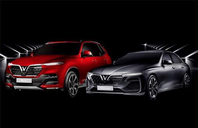 2 mẫu xe Vinfast có tên Lux A2.0 với dòng sedan và Lux SA2.0 với dòng SUV. (Ảnh: Vinfast).