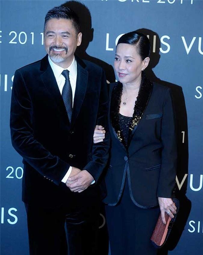 Hai vợ chồng Châu Nhuận Phát