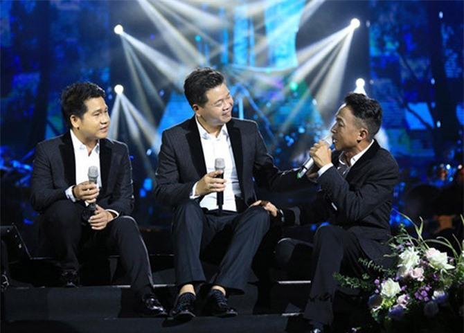 Live show Đường chúng ta đi của 'tam ca đỏ' Trọng Tấn - Đăng Dương - Việt Hoàn đã cháy vé. ẢNH: T.L