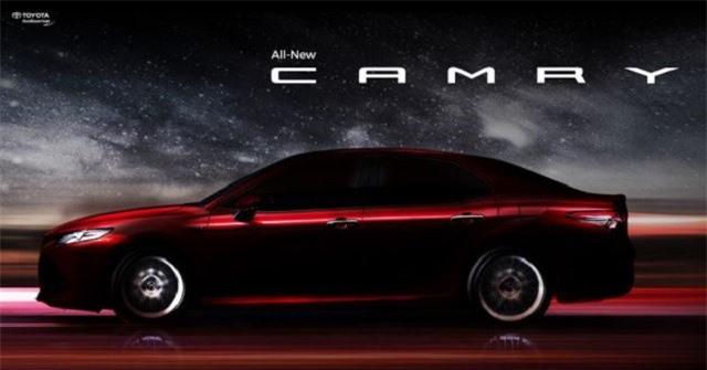 Toyota Camry thế hệ thứ 8 sắp ra mắt