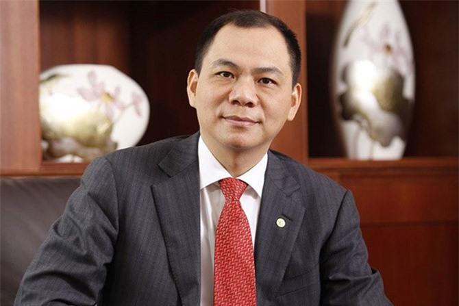 Ông Phạm Nhật Vượng - Chủ tịch HĐQT Tập đoàn Vingroup.