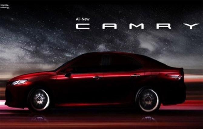 Toyota Camry thế hệ thứ 8 sắp ra mắt thị trường Đông Nam Á.