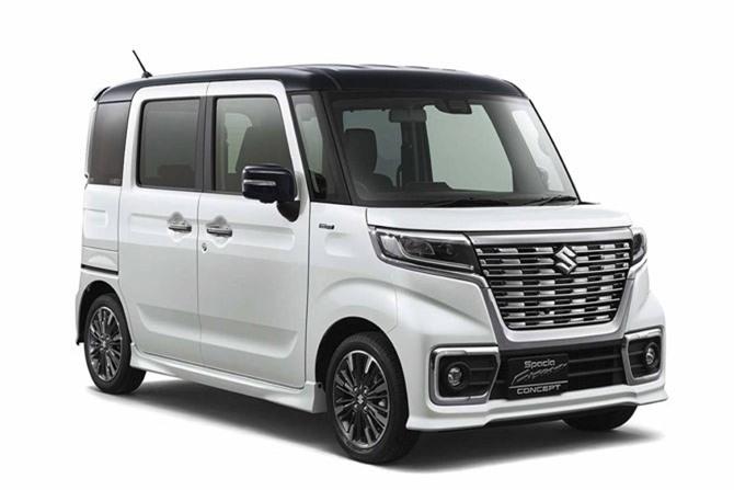 2. Suzuki Spacia (doanh số: 116.336 chiếc).