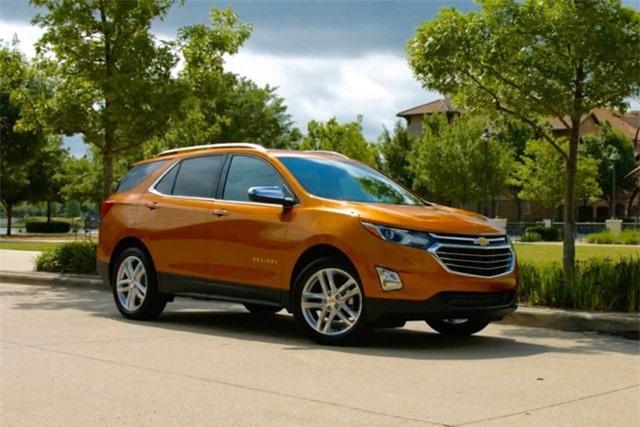 4. Chevrolet Equinox.