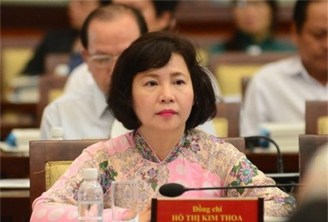 Cựu Thứ trưởng Hồ Thị Kim Thoa muốn bán hết cổ phiếu đang sở hữu - Ảnh 1.