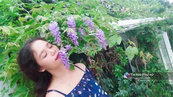 """Chuyển hàng tấn đất làm ao sen, trồng hồng trên sân thượng, mẹ HN xây """"thiên đường"""" phủ kín hoa - 5"""