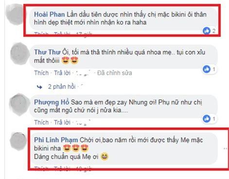 """tuoi 46, phi nhung mac bikini khoe dang dep hut mat """"don tim"""" fan hinh anh 2"""