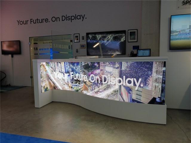 Màn hình LED có thể được thiết kế thành các kiểu dáng theo yêu cầu của khách hàng.