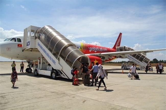 Đến năm 2020, Cảng hàng không Buôn Ma Thuột sẽ được nâng cấp để có thể tiếp nhận loại máy bay cỡ lớn, mở đường bay thẳng tới một số nước trong khu vực và quốc tế (Ảnh: VH)