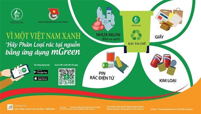 mGeen là dự án xã hội phi lợi nhuận nhằm thúc đẩy là xây dựng thói quyen phân loại rác thải thành các nguồn cho nhân dân