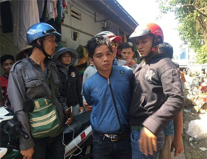 'Hiep si' Binh Duong bat nghi can trom xe may hinh anh 1