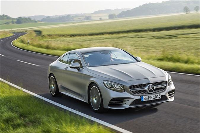 Mercedes-Benz S450 4Matic Coupe 2018