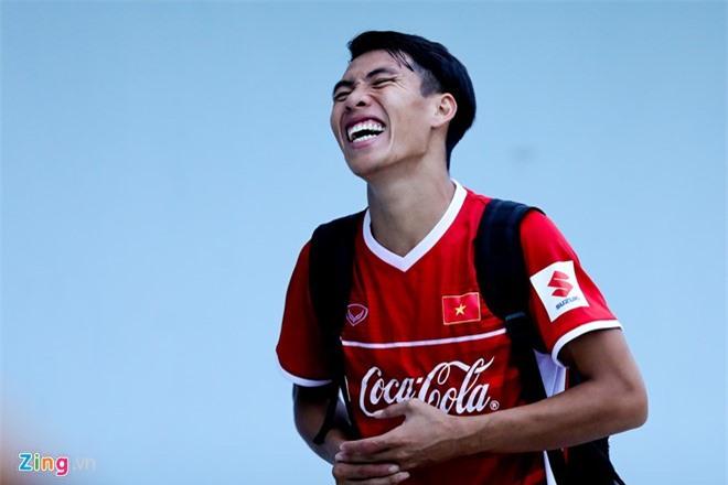 Quốc Chí vẫn chưa thể có giải đấu đầu tiên cùng tuyển Việt Nam dù luôn thể hiện phong độ cao ở V.League.