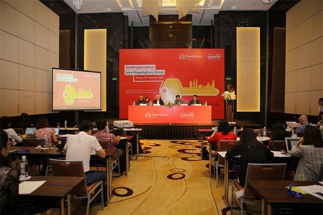 Lễ công bố hợp nhất batdongsan.com.vn và Tập đoàn PropertyGuru.