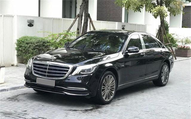Mercedes-Benz S500 chạy 4 vạn km