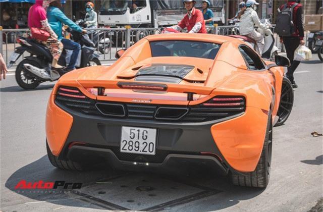 Siêu xe McLaren 650S sở hữu màu sơn giống với của Minh Nhựa dạo phố Sài Thành - Ảnh 5.