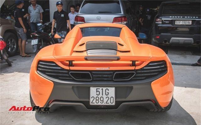 Siêu xe McLaren 650S sở hữu màu sơn giống với của Minh Nhựa dạo phố Sài Thành - Ảnh 6.