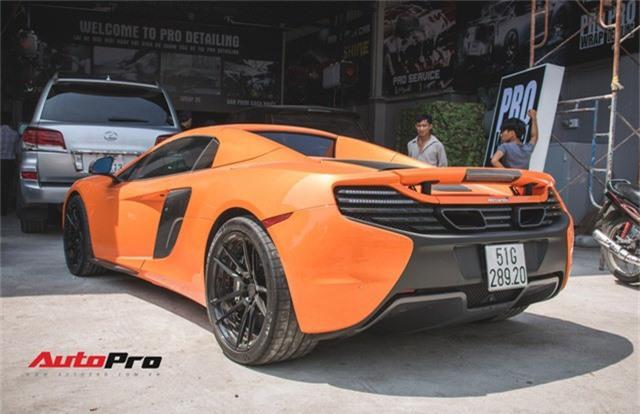 Siêu xe McLaren 650S sở hữu màu sơn giống với của Minh Nhựa dạo phố Sài Thành - Ảnh 7.