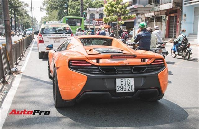 Siêu xe McLaren 650S sở hữu màu sơn giống với của Minh Nhựa dạo phố Sài Thành - Ảnh 8.