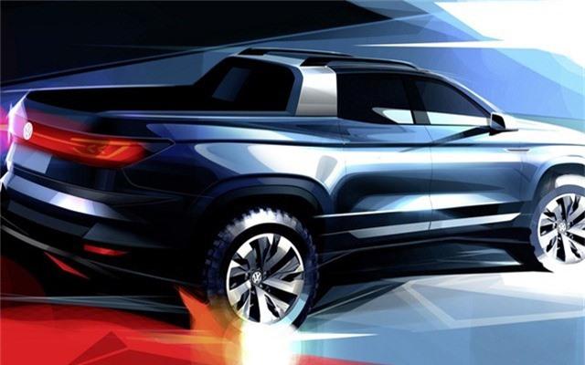Volkswagen hé lộ bán tải cỡ nhỏ hoàn toàn mới có thể sử dụng khung gầm Ford Ranger