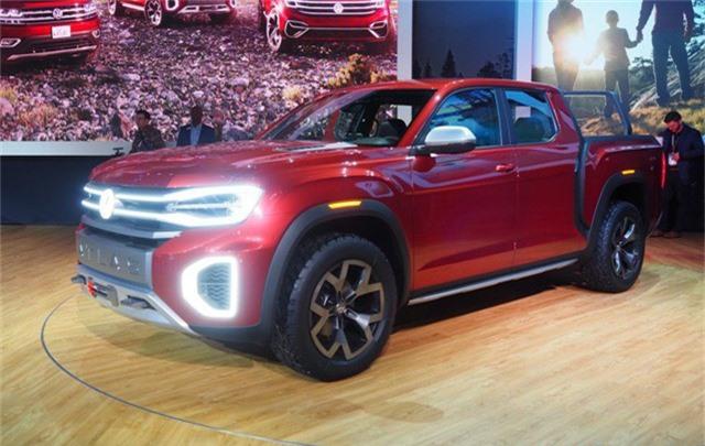 Volkswagen hé lộ bán tải cỡ nhỏ hoàn toàn mới có thể sử dụng khung gầm Ford Ranger - Ảnh 1.