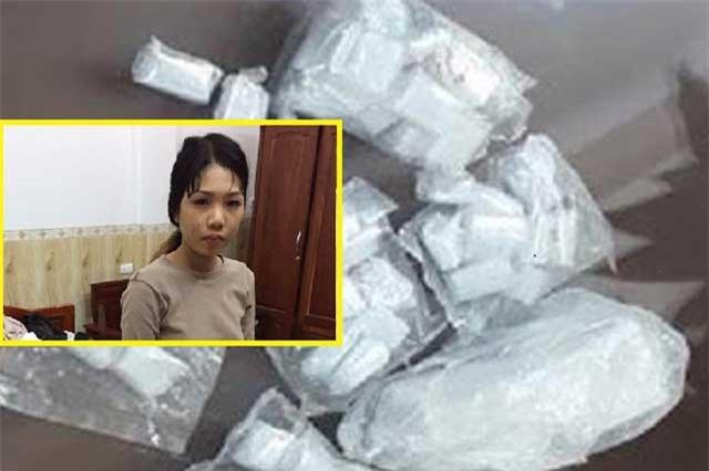Nghi can tàng trữ ma túy bị bắt tại nhà nghỉ.