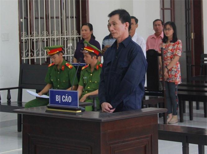 Bị cáo Dương Quang Long tại tòa ẢNH: XUÂN PHÚC