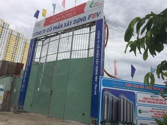Dự án High Intela tọa lạc tại số 1670 Võ Văn Kiệt, Phường 16, Quận 8 (Ảnh: CĐ)