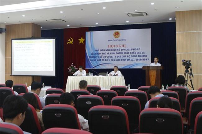 Hội nghị về kinh doanh xuất khẩu gạo diễn ra tại TPHCM ngày 1-11 (ảnh HL)