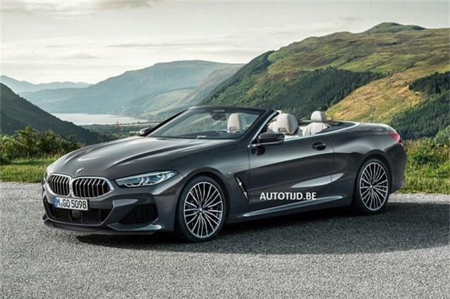 Bất ngờ lộ trọn vẹn ảnh BMW 8-Series mui trần. Đúng như dự đoán, phiên bản 8-Series mui trần của BMW mang đậm chất 6-Series trong thiết kế. (CHI TIẾT)