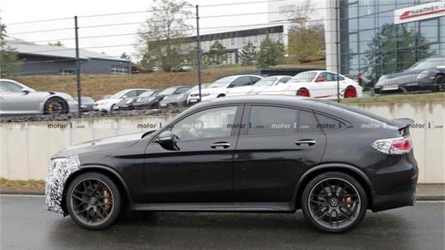 Mới ra mắt hơn một năm, Mercedes-AMG GLC 63 Coupe đã chuẩn bị có bản facelift - Ảnh 1.