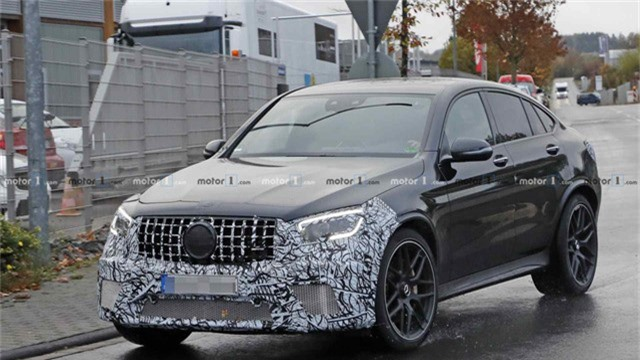 Mới ra mắt hơn một năm, Mercedes-AMG GLC 63 Coupe đã chuẩn bị có bản facelift - Ảnh 2.