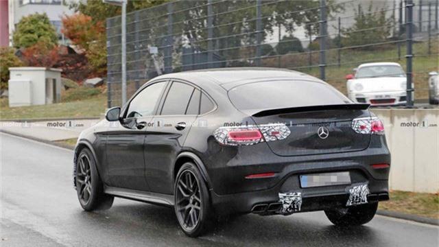 Mới ra mắt hơn một năm, Mercedes-AMG GLC 63 Coupe đã chuẩn bị có bản facelift - Ảnh 3.
