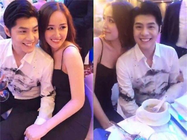 Hình ảnh thân mật của Mai Phương Thúy và Noo Phước Thịnh trong đám cưới Tú Anh từng dấy lên tin đồn cả hai đang hẹn hò