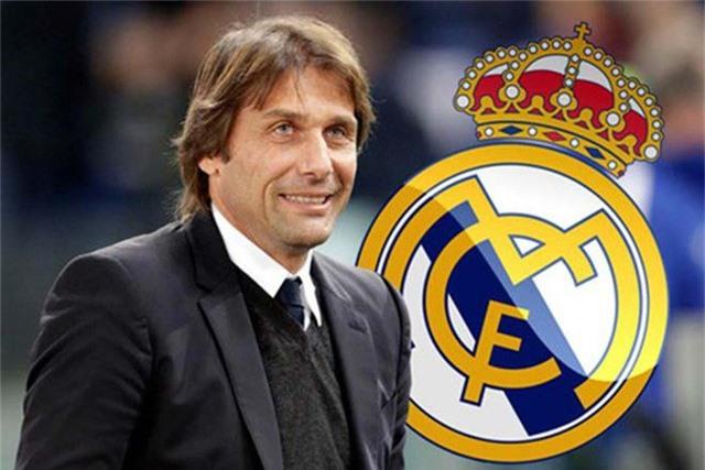 HLV Conte sẽ không tới dẫn dắt Real Madrid