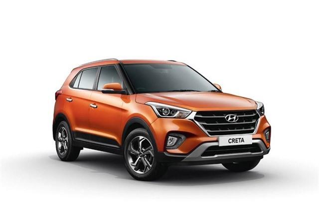 9. Hyundai Creta (doanh số: 91.895 chiếc).