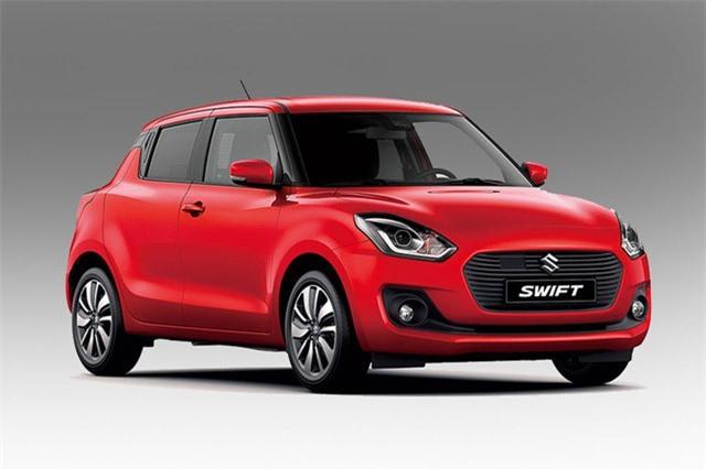 3. Maruti Suzuki Swift (doanh số: 172.434 chiếc).