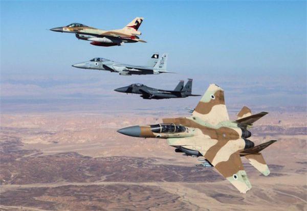 Chiến đấu cơ F-15 và F-16 của Israel