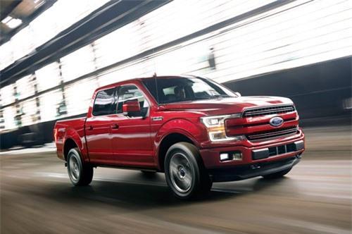 1. Ford F-Series (doanh số: 70.438 chiếc).