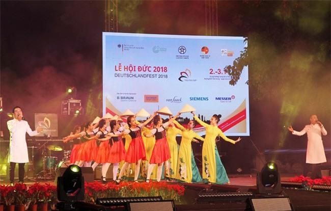 Lễ hội Đức 2018 diễn ra nhiều hoạt động văn hóa, văn nghệ (ảnh TTXVN)