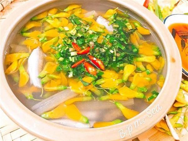 Canh chua cá linh thanh mát ăn là mê