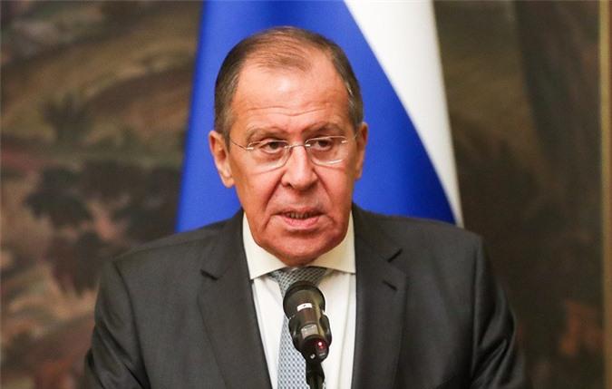 Ngoại trưởng Nga Sergei Lavrov. (Ảnh: TASS)