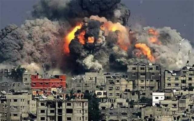 Một vụ nổ lớn ở Syria. Ảnh minh họa.
