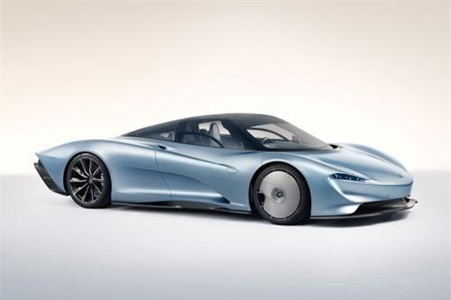 7. McLaren Speedtail.