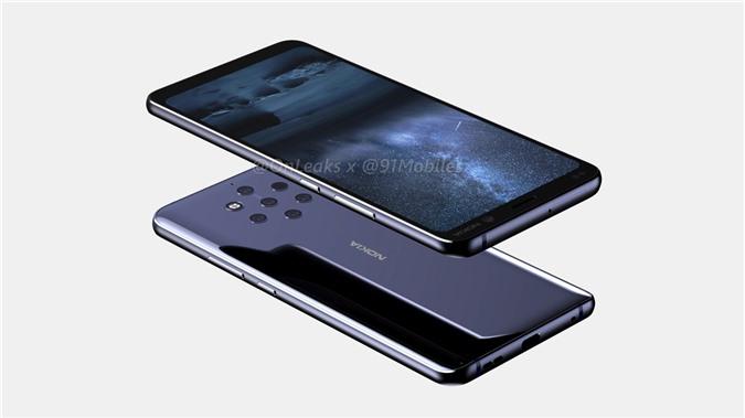 Nokia 9 bản concept vừa rò rỉ.