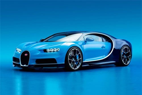 =9. Bugatti Chiron 2016 (công suất tối đa: 1.500 mã lực).